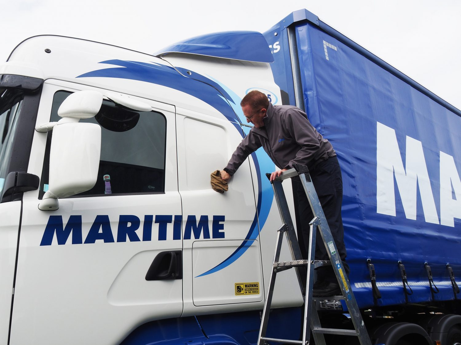 fleet cleaning with LPW Europe