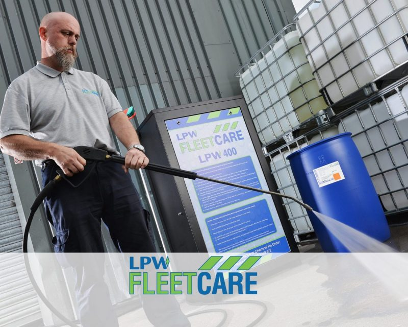 industrial pressure washer from LPW Europe