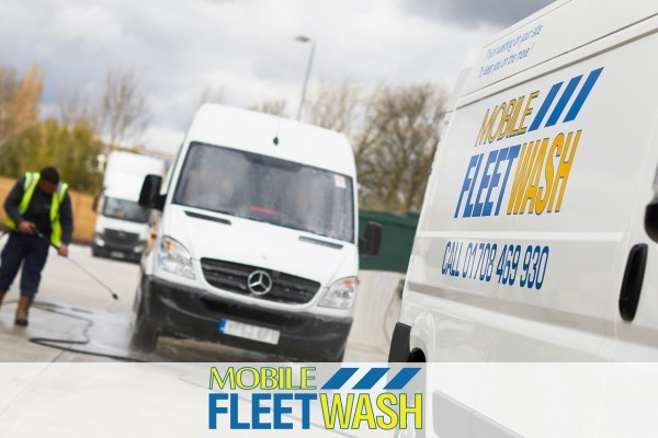 Onsite fleet cleaning