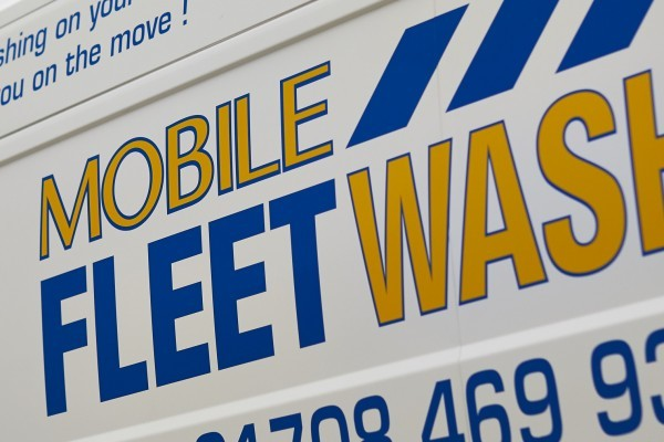 Mobile Fleetwash van