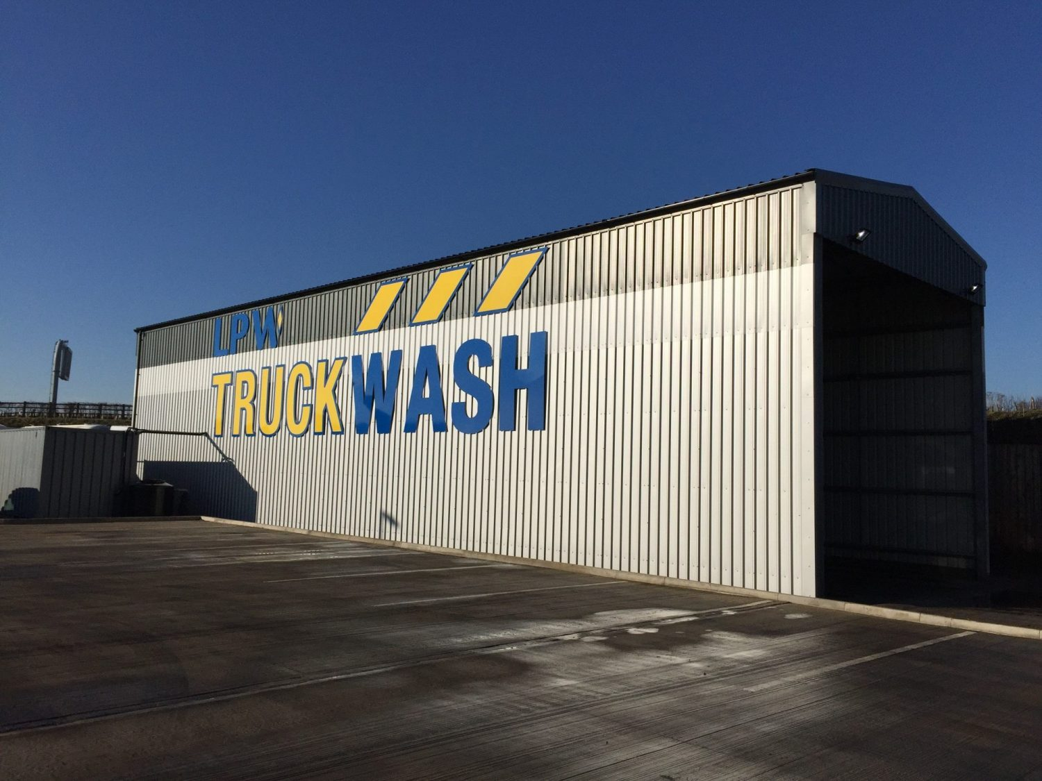 Coneygarth Truck Wash Site