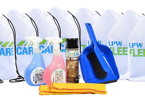 title graphic for LPW blog about fleet cleaning winter essentials