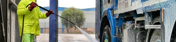 Truck wash payments
