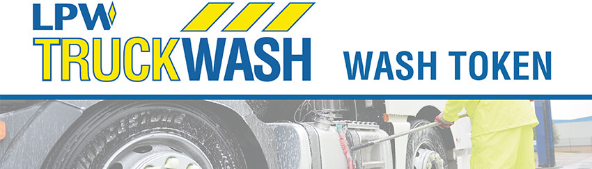 Pre-paid truck wash