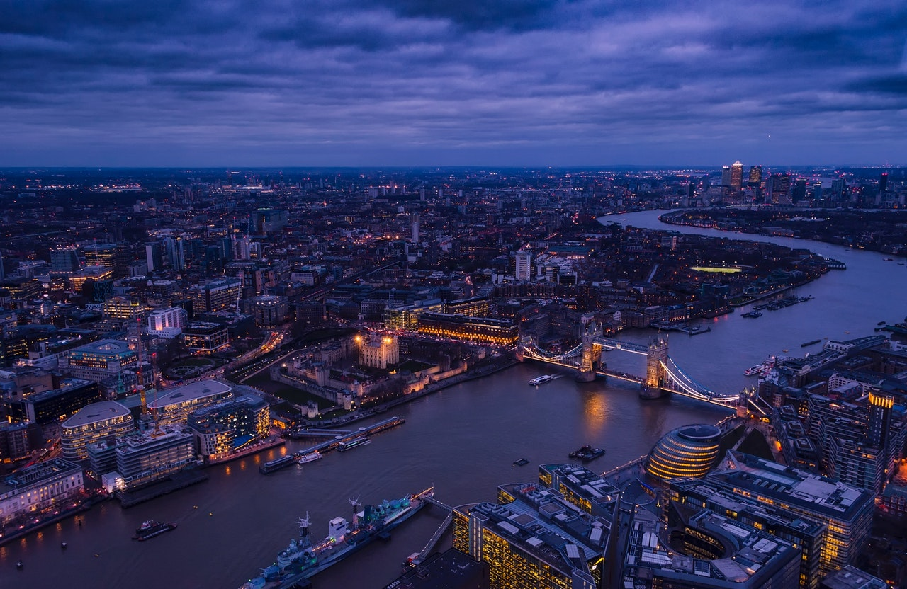image of London for mobile fleet wash in London blog by LPW Europe