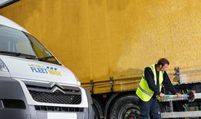 onsite truck washing in Birmingham by LPW Europe