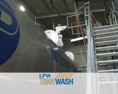 Title graphic for LPW Europe blog about LPW tank wash